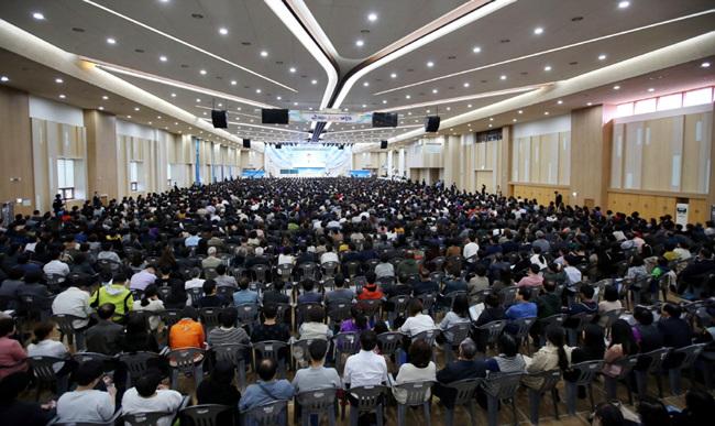 5_11월 2일 광주 베드로지파 성전에서 열린 '주 재림과 추수확인 대집회'.jpg